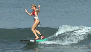 Chicks-In-Heels-Riding-Waves