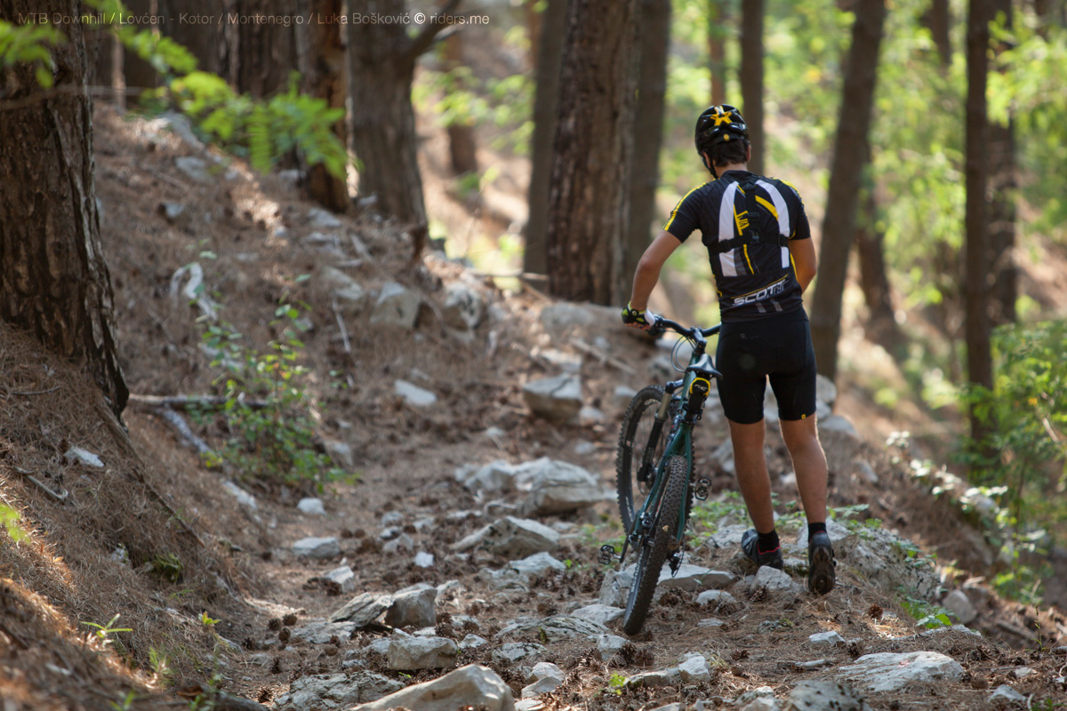 Lovćen - Kotor / MTB Downhill / Luka Bošković © riders.me