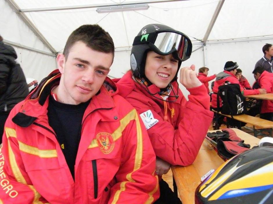 Tarik Hadžić & Ivana Bulatović / Montenegro – Olympic Team – Sochi 2014