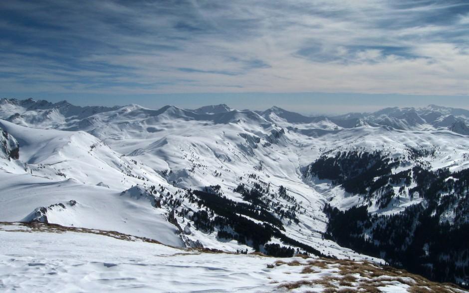 Pogled sa Paśeg vrha prema Bogićevici i Prokletijama