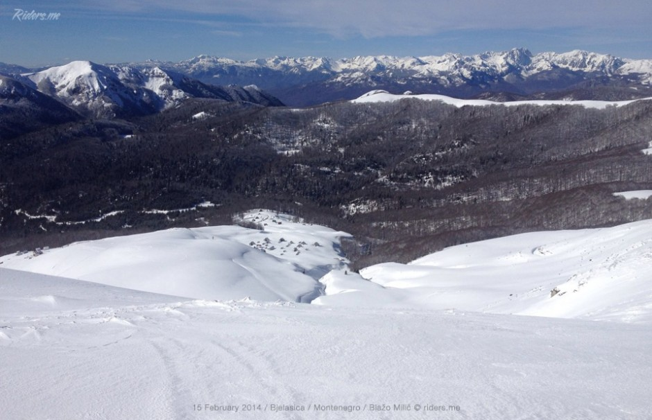 Pogled na jugozapad - Moračke planine