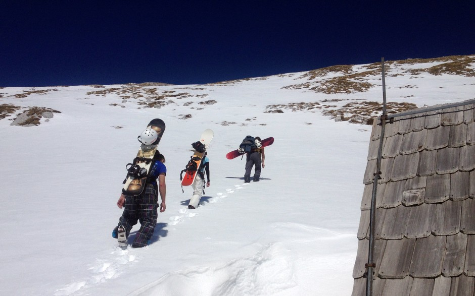Brka, Vedrana i Pirgo odoše na vrh - Savin kuk 2313m