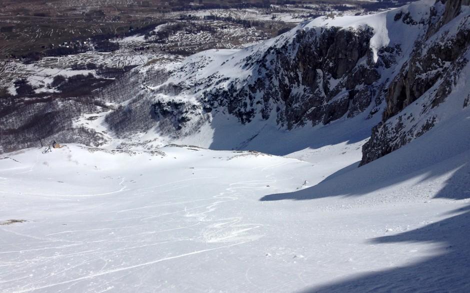 Korito/karlica - pogled sa vrha