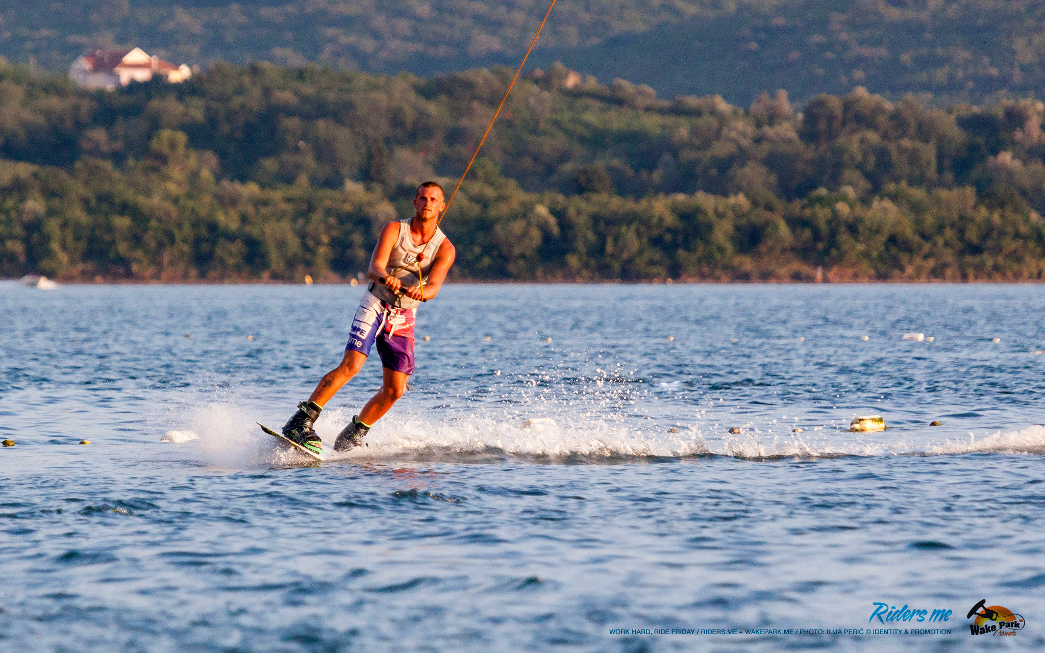 work hard, ride friday - wakepark.me © riders.me