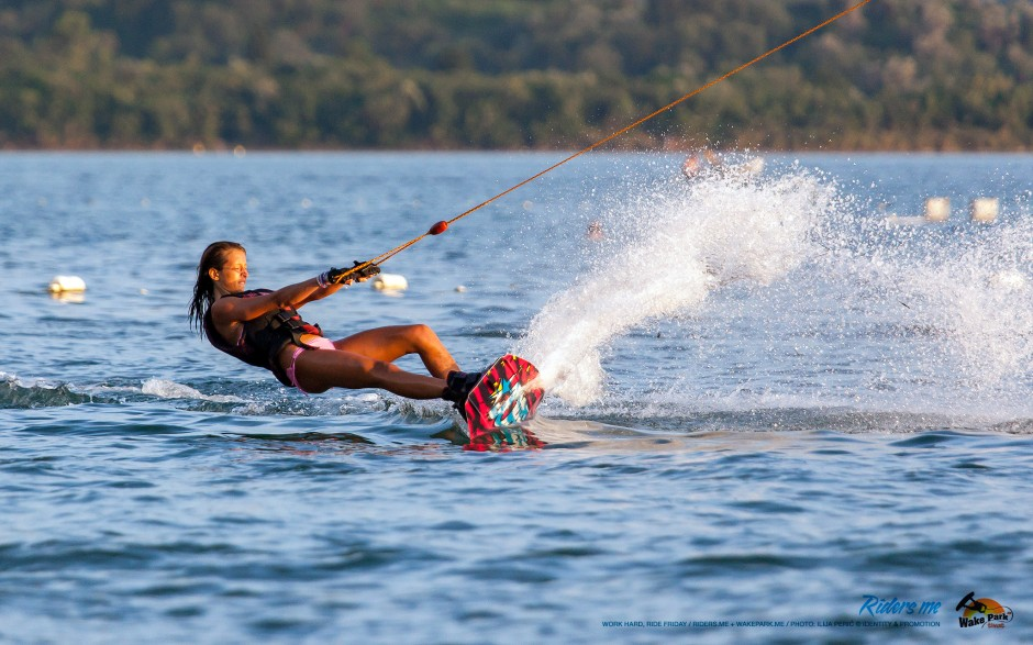 Lana Roganović - work hard, ride friday - wakepark.me © riders.me