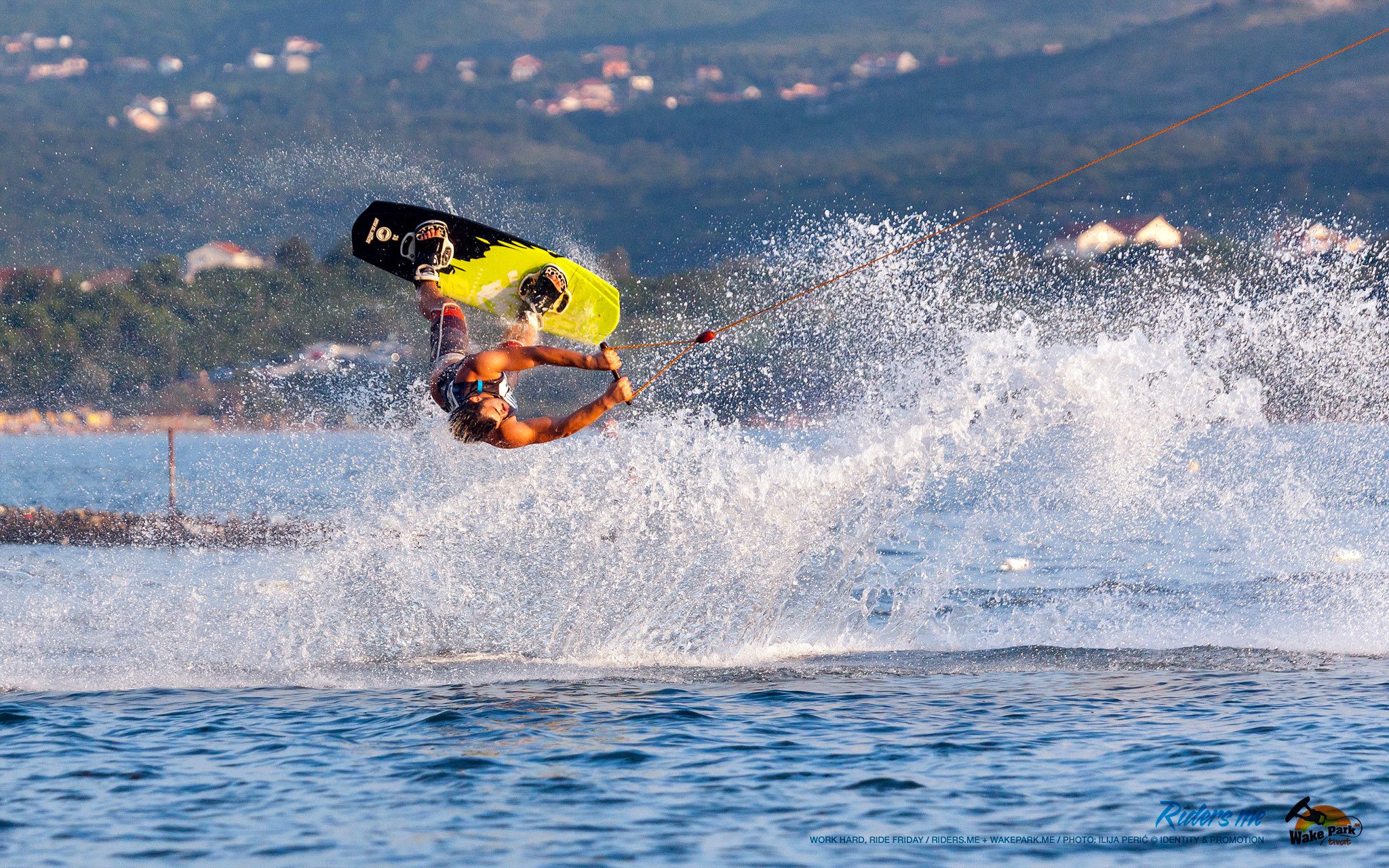 Velja Perunović - work hard, ride friday - wakepark.me © riders.me