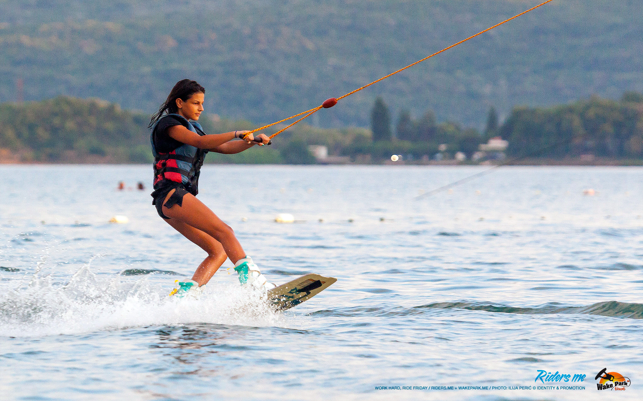 Ines Zmijanović - work hard, ride friday - wakepark.me © riders.me