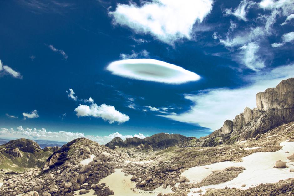 Leteći tanj... oblak