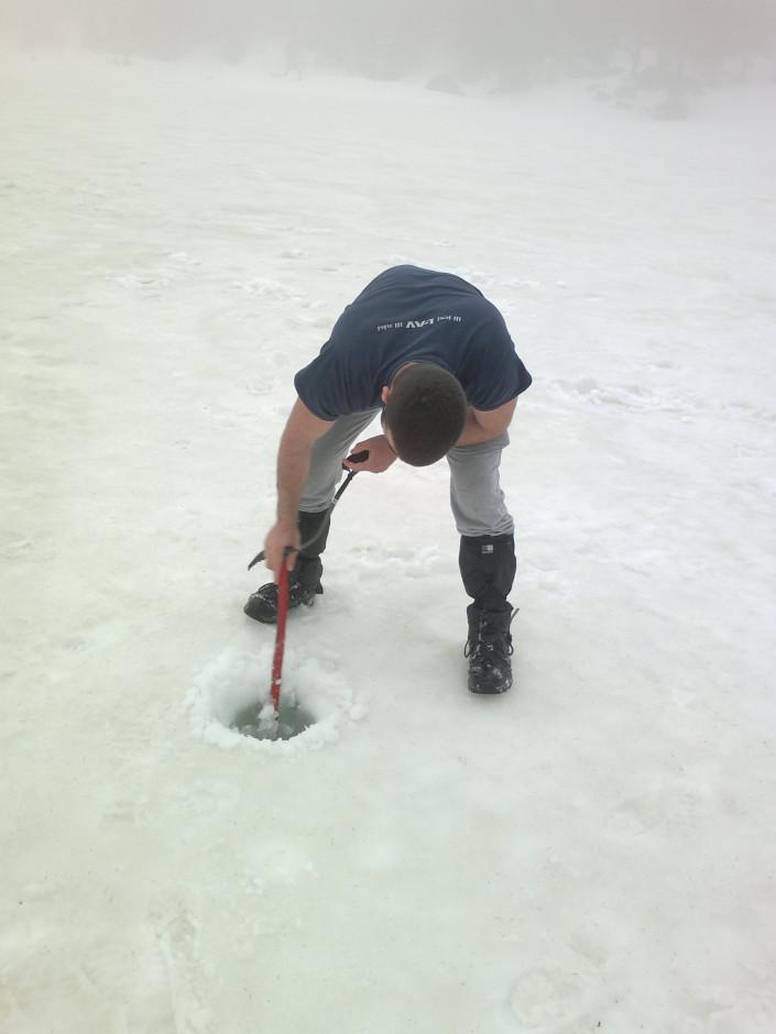 008 - Mjerenje debljine leda