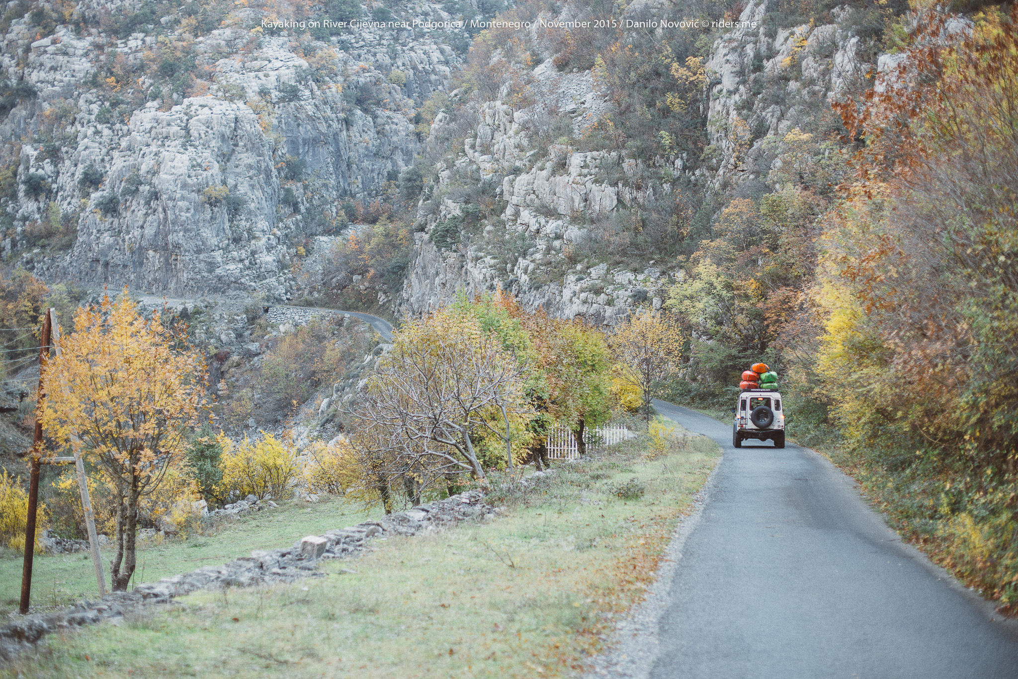 Uzvodno kanjonom Cijevne