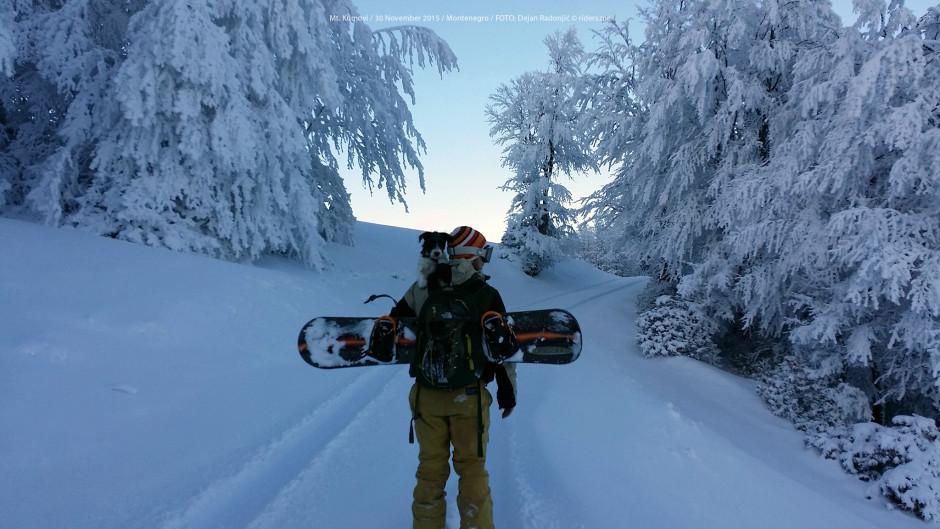 Kolima do prevoja Trešnjevik pa onda pješke lagano