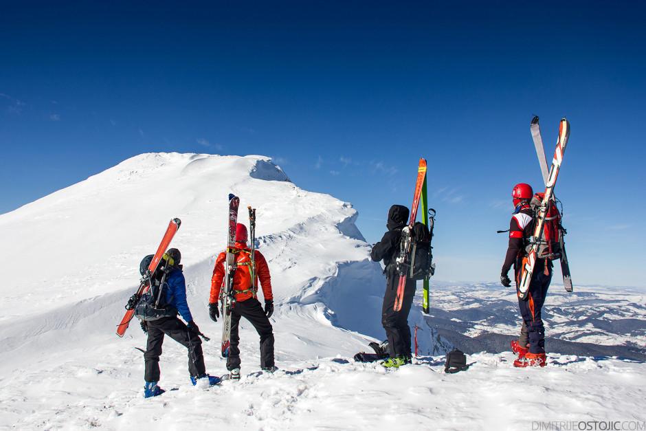 Pogled ka vrhu Hajle. Foto: Bojan Marić