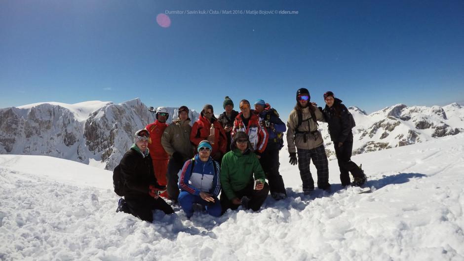 Ekipa na vrhu, Savin kuk - Kulina 2313