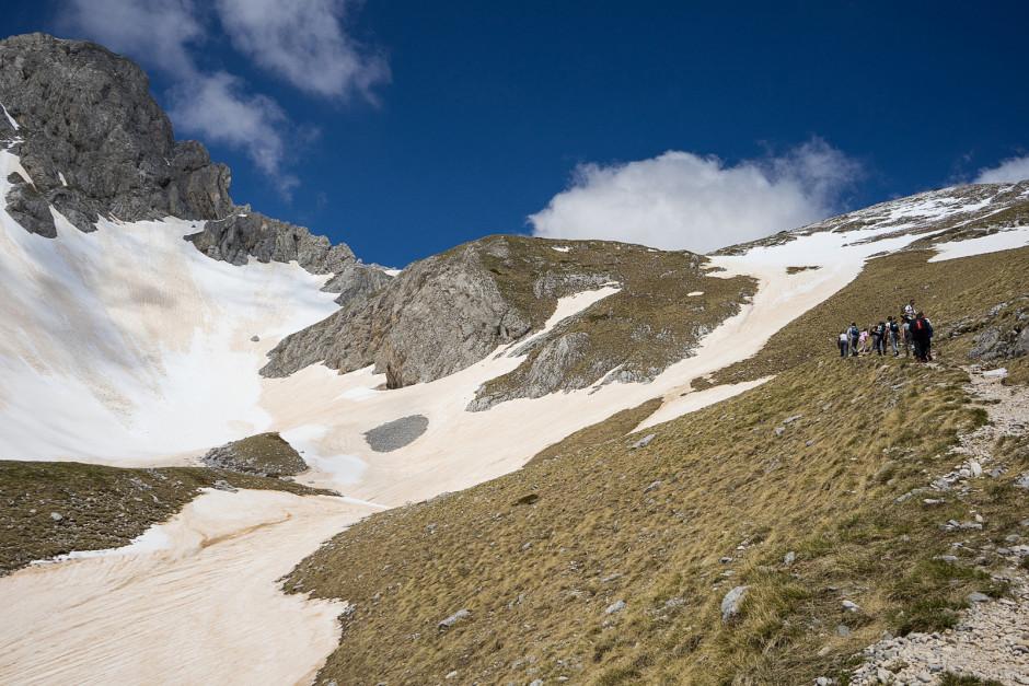 005-Penjanje ka ski lift stanic br.2