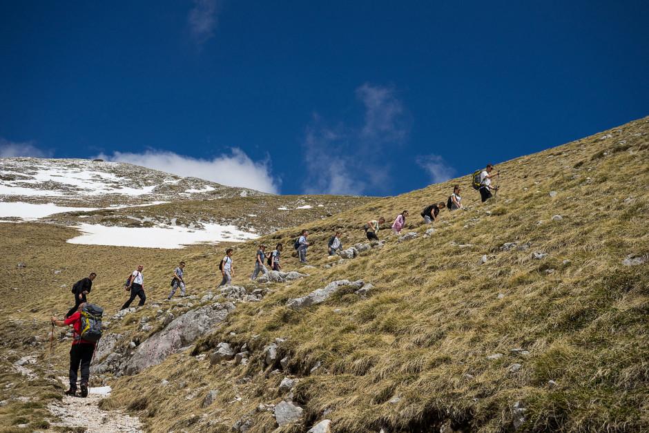 006-Penjanje ka ski lift stanic br.2