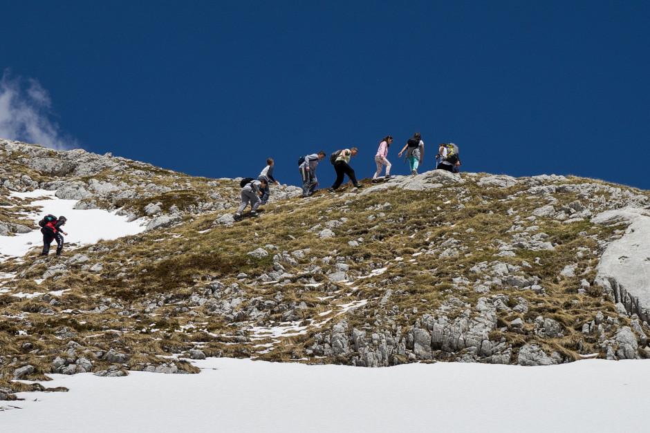 007-izlazak na greben iznad stanice br.2