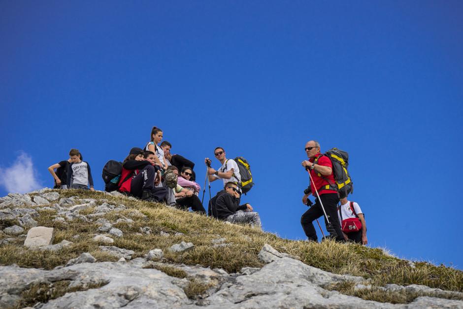 008-kratak predah prije osvajanja vrha Kulina
