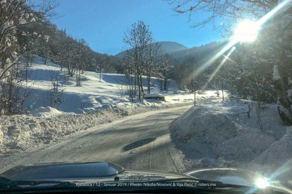 Na putu ka skijalištu...