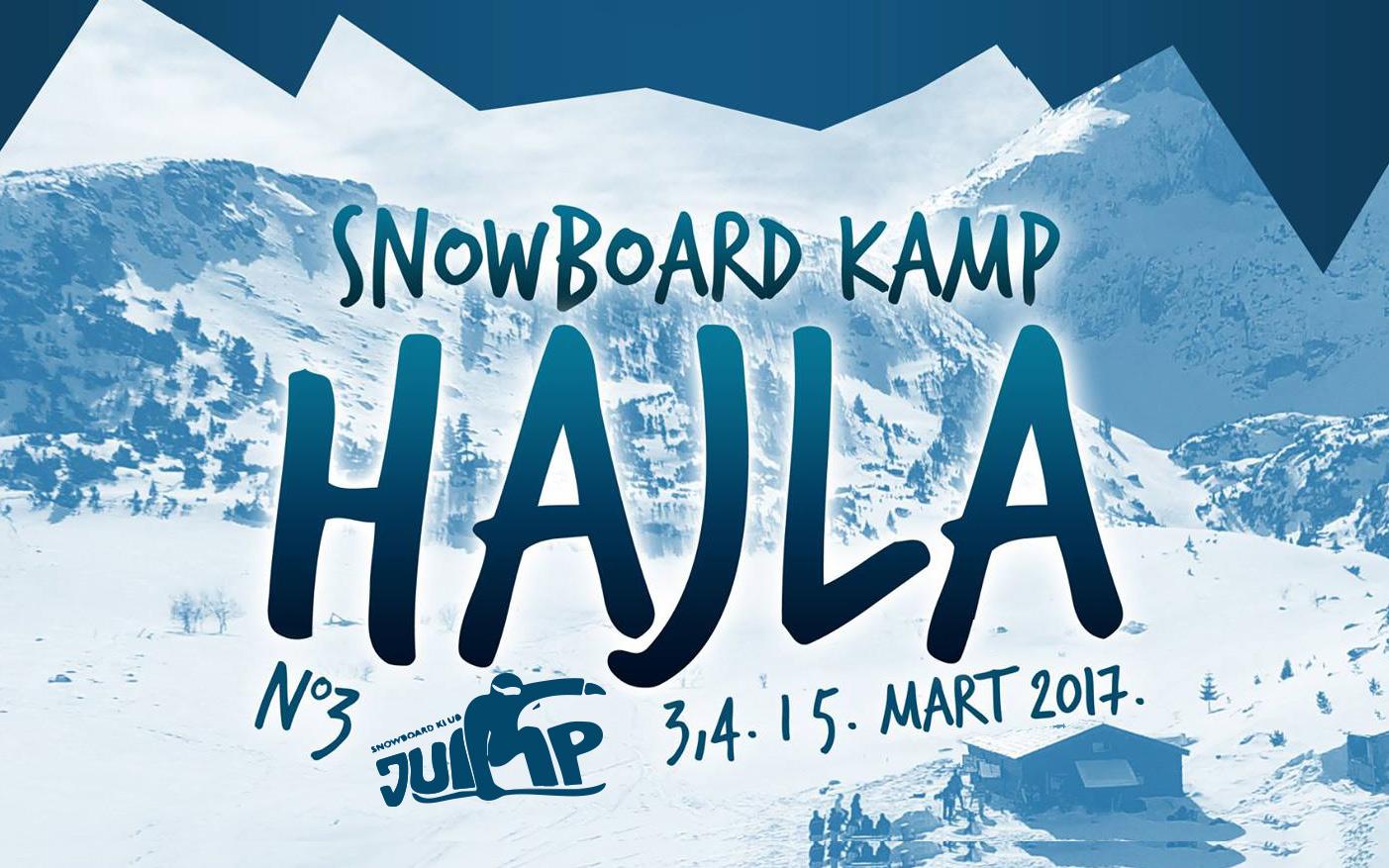 Treći SNOWBOARD KAMP HAJLA 2017